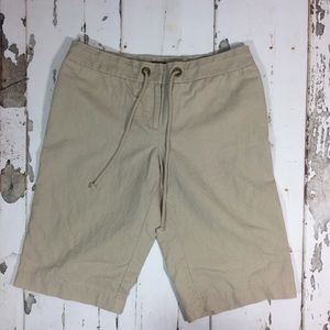 J. Crew city fit linen shorts 8